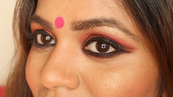 Karvachauth Make-up Indien