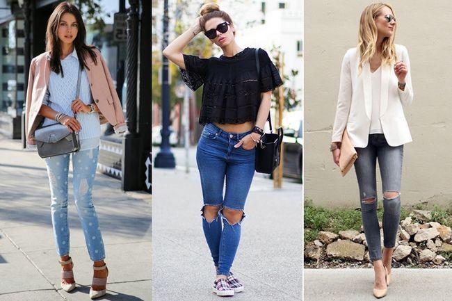 Wie Wear Distressed Denims