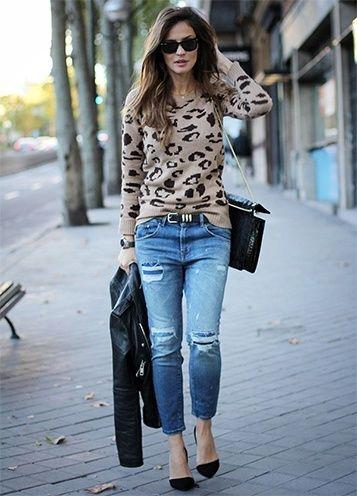 Wie man Distressed Jeans