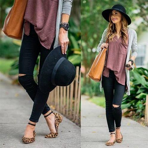 Distressed Jeans für Frauen