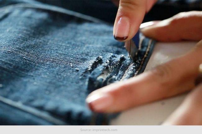 Wie Distress Jeans