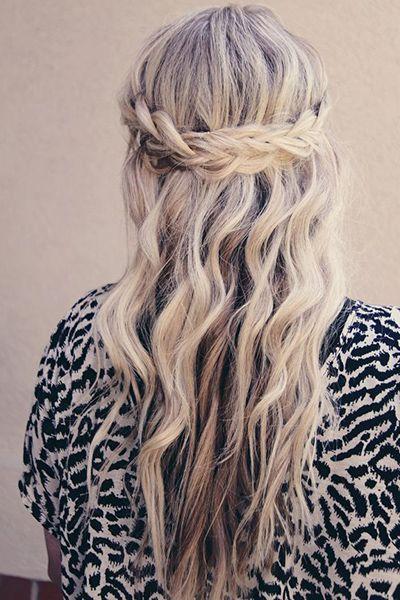Nette Französisch Geflochtene Stirnband Frisur