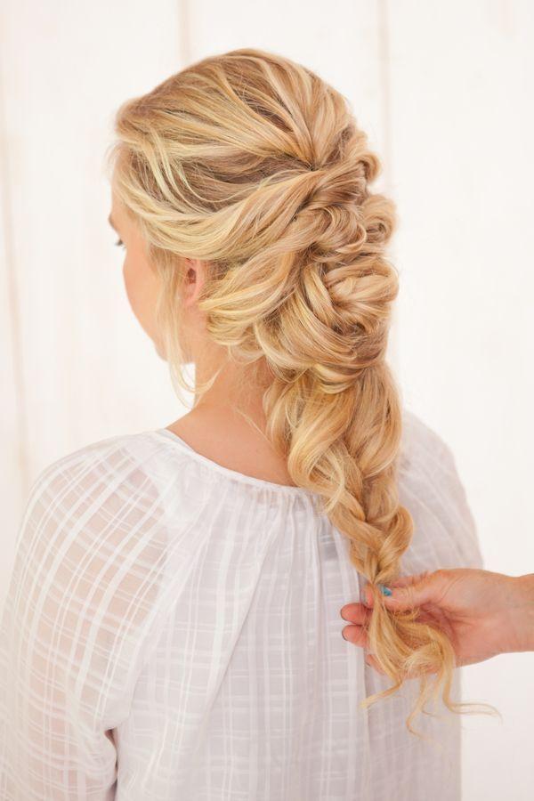 Französisch Braid Twist Frisur