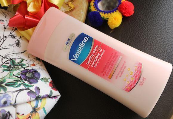 Vaseline gesunde weiße komplette 10 aha & pro-ratinol bodylotion bewertung