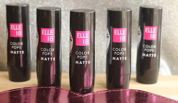 5 Elle 18 farbe pops matt lippenstifte ersten eindruck