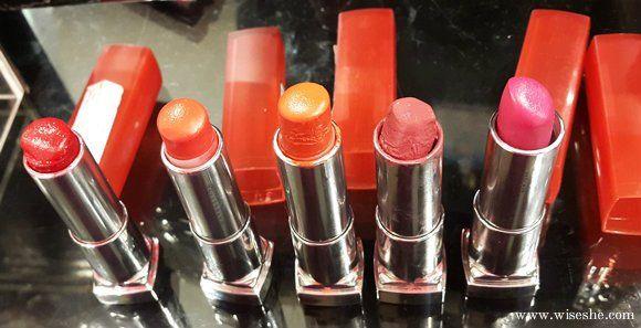 5 Maybelline rebell bouquet lippenstifte `muster