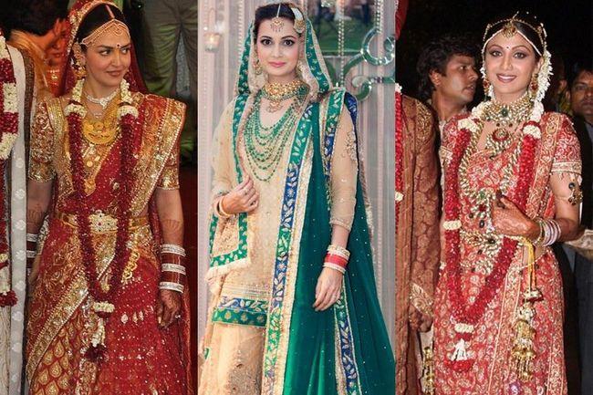 7 Die teuersten bollywood brautkleider von bollywood prominenten zur schau