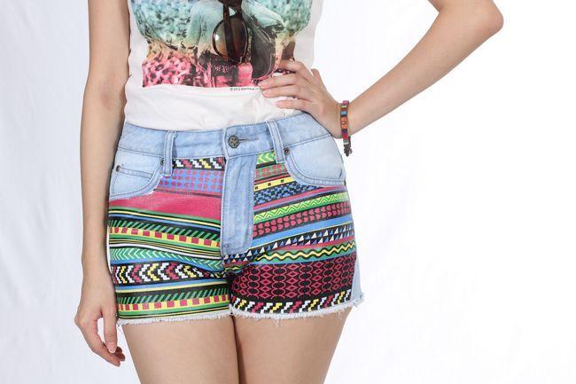 Diy tutorials von gedruckten shorts