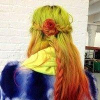 Haarfarbe ideen für das jahr 2014 - ombre frisuren