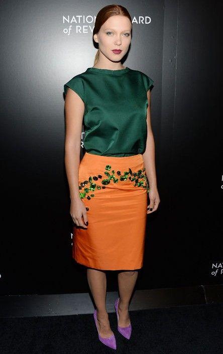 Wie juwelton outfit wie léa seydoux für frühjahr 2014 zu tragen