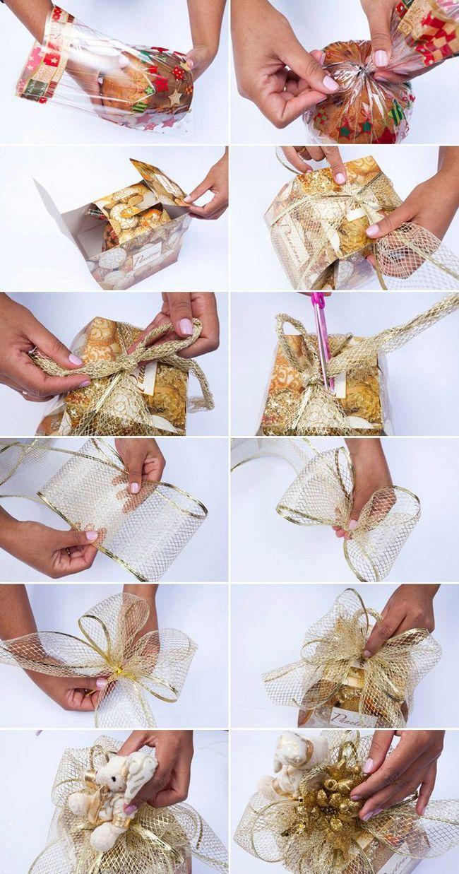 Wie sie ihre geschenke für weihnachten zu wickeln
