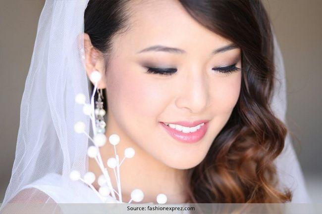 Japanische braut make-up-tipps können wir in unserem indischen hochzeiten verwenden