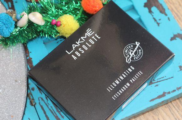 Lakme absolute leuchtenden lidschatten-palette-französisch rose und königs persia fotos und muster