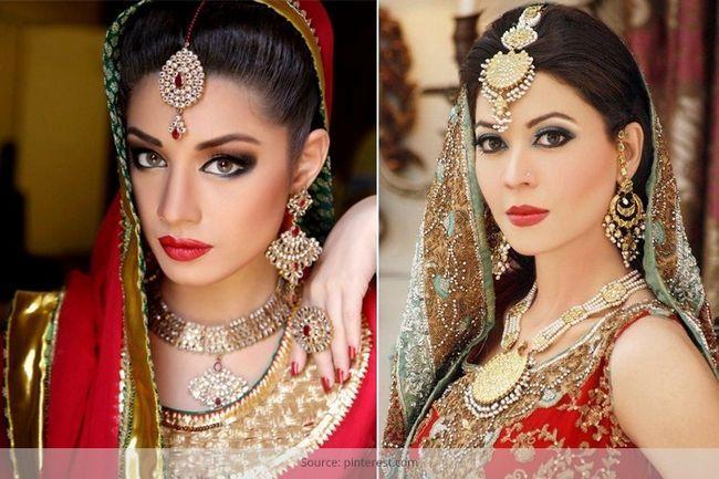 Der reiz der asiatischen braut make-up