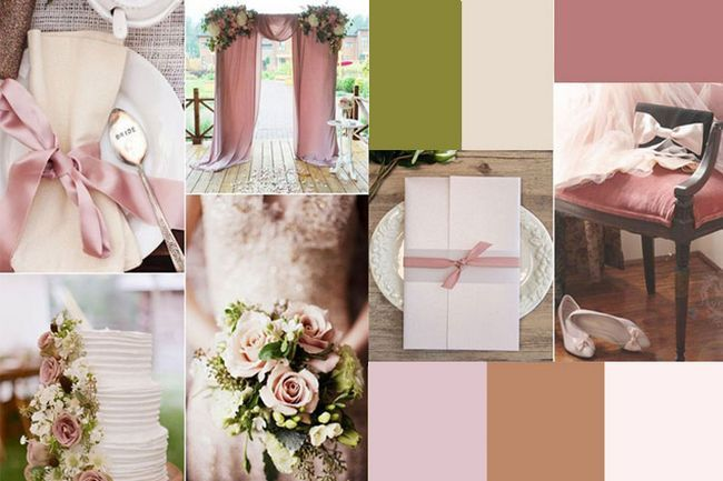 Denken sie an diese sechs wunderschönen neutral hochzeit farbkombinationen für ihre hochzeit