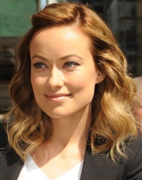 Olivia Wilde Frisuren: Entzückende Medium Curls