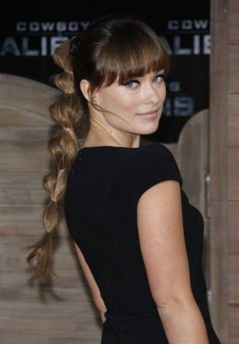 Olivia Wilde Frisuren: Fantastic Pferdeschwanz