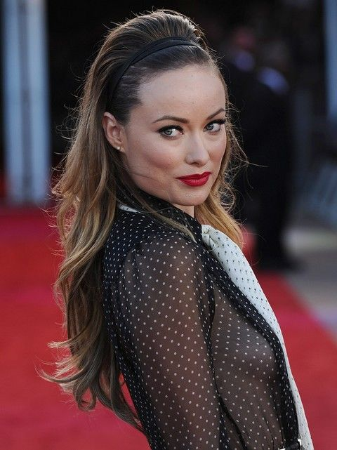 Olivia Wilde Frisuren: Super chic Teased Frisur
