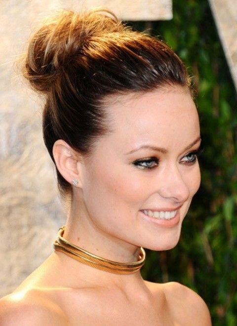 Olivia Wilde Frisuren: Elegante Hochsteckfrisur