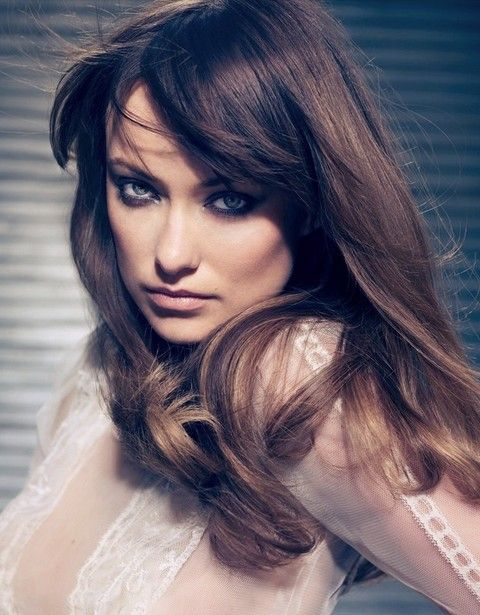 Olivia Wilde Frisuren: Chic Gerade Haircut