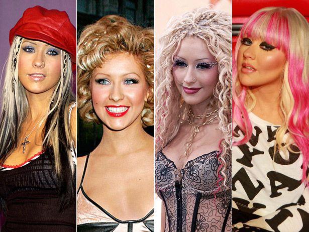 Christina Aguilera Frisuren