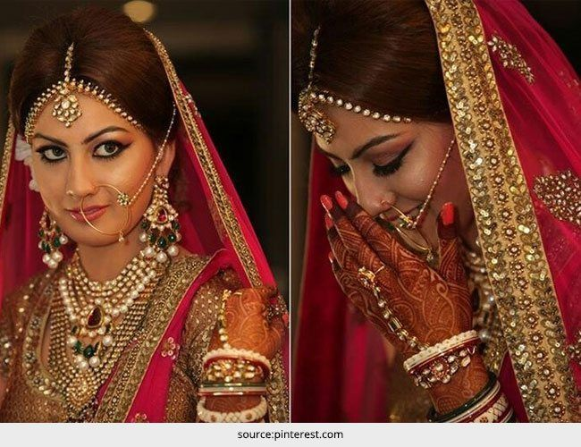 Top 5 Indian Braut Stil