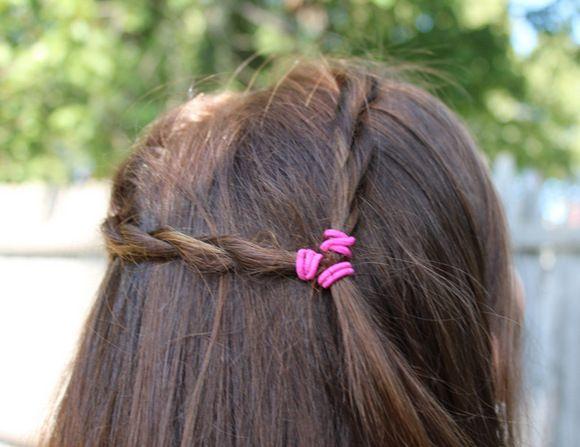 Twist-Frisur