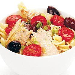Thunfisch und pasta-salat