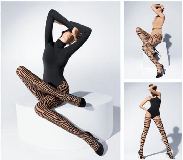 Rüsten sie ihren winter-garderobe mit cleveren legwear-trends