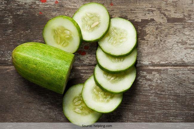 Verwenden gurke für gewichtsverlust und spülen diese fettzellen in diesem winter weg