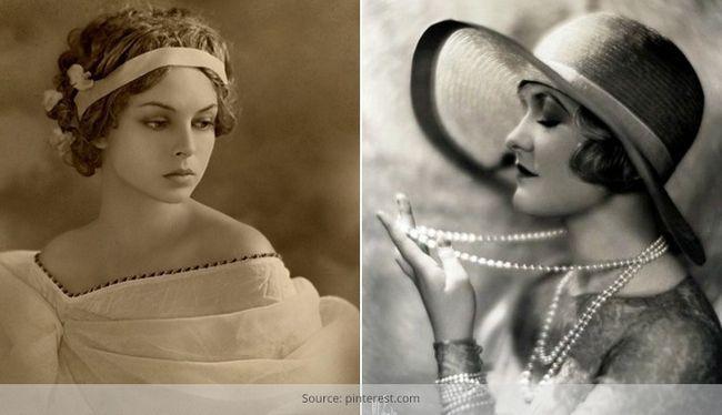 Vintage-mode: was war mode in den 1920er jahren zurück?